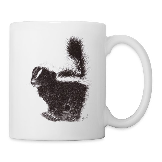 Cool cute funny Skunk