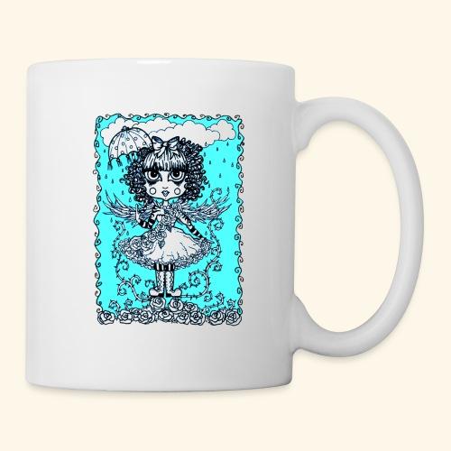 Angel in the Rain Poster - Coffee/Tea Mug