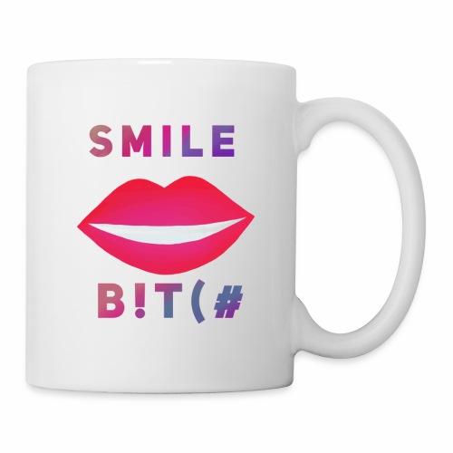 Smile B!T(# - Coffee/Tea Mug