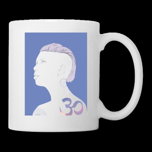 The Girl With The Om Tattoo - Coffee/Tea Mug