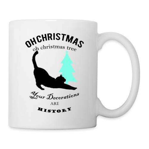 Christmas kitty - Coffee/Tea Mug