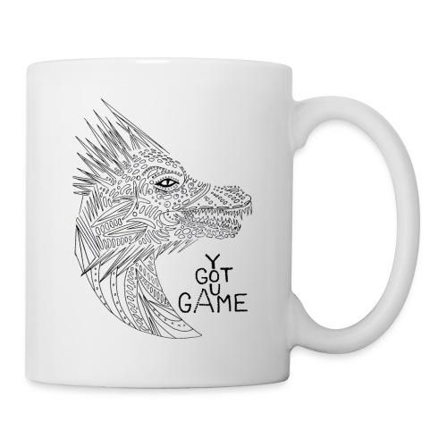 """Dragon """"you got game"""" - Coffee/Tea Mug"""