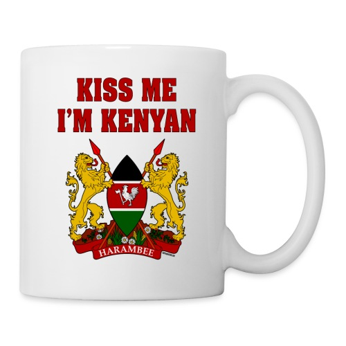 Kiss Me, I'm Kenyan - Coffee/Tea Mug