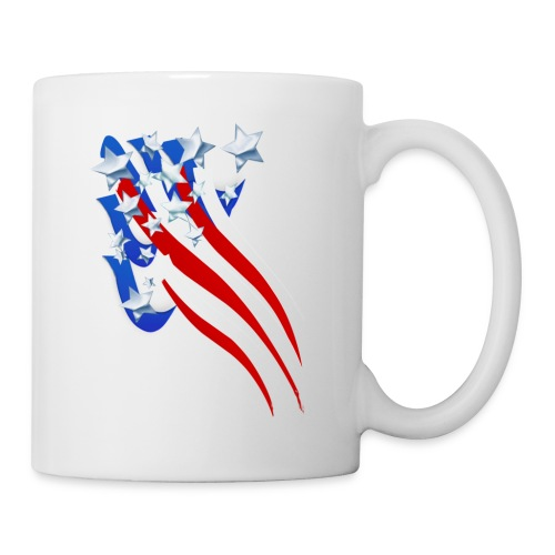 Sweeping Old Glory - Coffee/Tea Mug