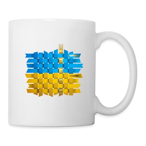Weave Ukrainian flag - Coffee/Tea Mug
