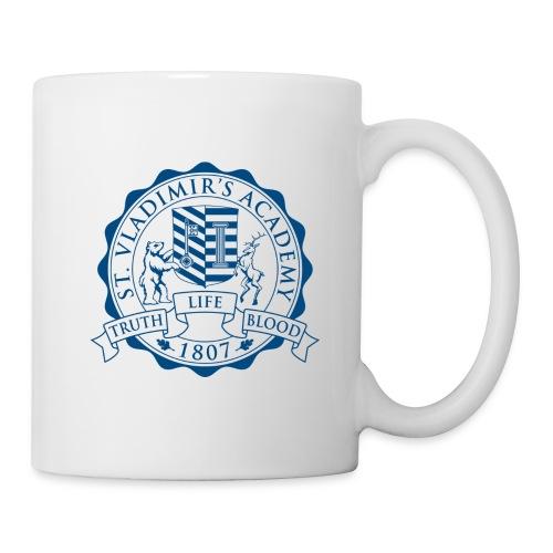 stv crest navy lmdesigns - Coffee/Tea Mug