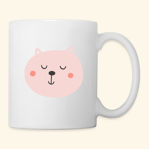 Cute Pink cat - Coffee/Tea Mug
