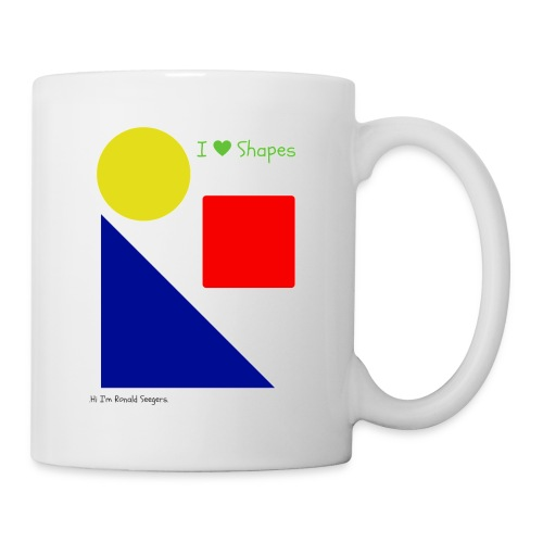 Hi I'm Ronald Seegers Collection-I Love Shapes - Coffee/Tea Mug