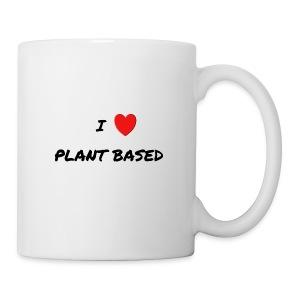 I LOVE PLANT BASED - Coffee/Tea Mug