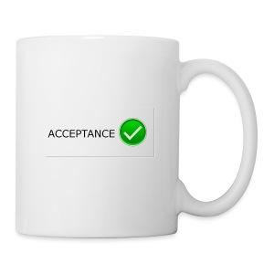 accpetnace_logo - Coffee/Tea Mug