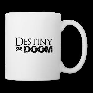 Destiny or Doom Black Logo - Coffee/Tea Mug