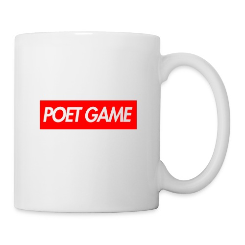 POET GAME BOX LOGO MERCH - Coffee/Tea Mug