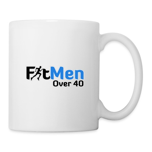 Fit Men Over 40 V-Neck Short Sleeve Shirt - Coffee/Tea Mug
