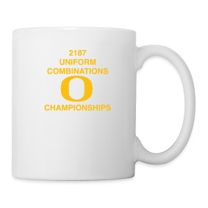 2187 UNIFORM COMBINATIONS O CHAMPIONSHIPS - Coffee/Tea Mug