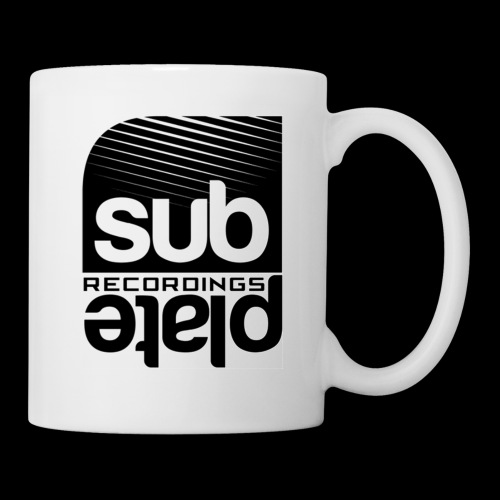 Subplate Recordings - Logo White - Coffee/Tea Mug
