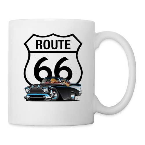 Route 66 Classic Car Nostalgia - Coffee/Tea Mug