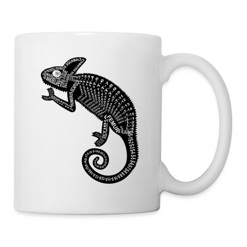 Skeleton Chameleon - Coffee/Tea Mug
