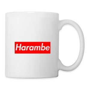 Harambe x Supreme Box Logo - Coffee/Tea Mug