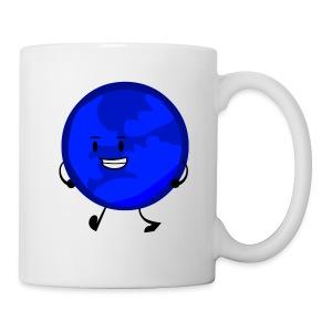 Walking blue planet - Coffee/Tea Mug