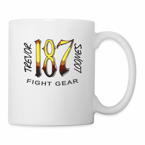 Coloured Trevor Loomes 187 Fight Gear Logo - Coffee/Tea Mug