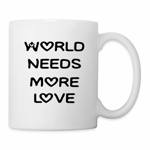 World Needs More Love - Coffee/Tea Mug