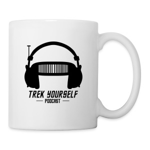Trek Yourself Podcast Logo - Coffee/Tea Mug