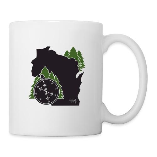 Wisconsin Compass Logo - Coffee/Tea Mug