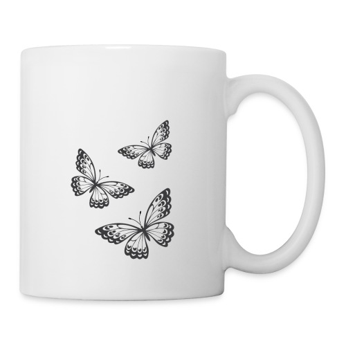 be_you_tiful_grey_white_text - Coffee/Tea Mug