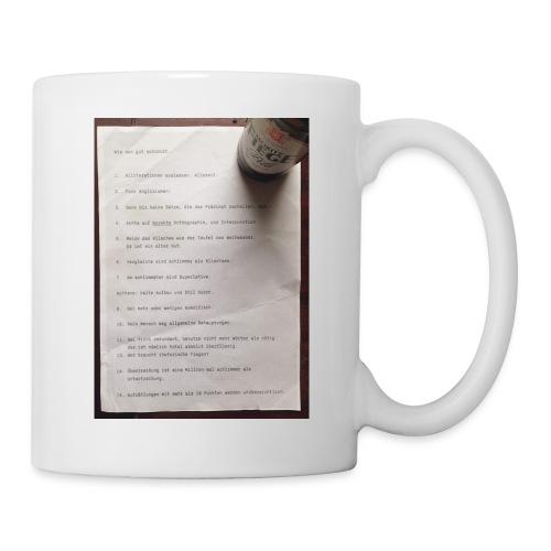 copywriting - Coffee/Tea Mug