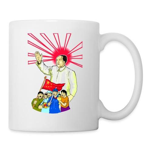 Mao Waves To His Supporters - Coffee/Tea Mug