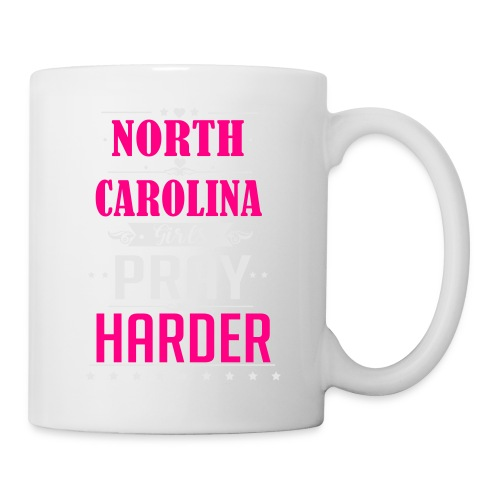 North Carolina Girls Pray Harder ai - Coffee/Tea Mug