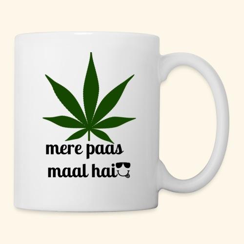 MERE PAAS MAAL HAI GREEN STUFF - Coffee/Tea Mug