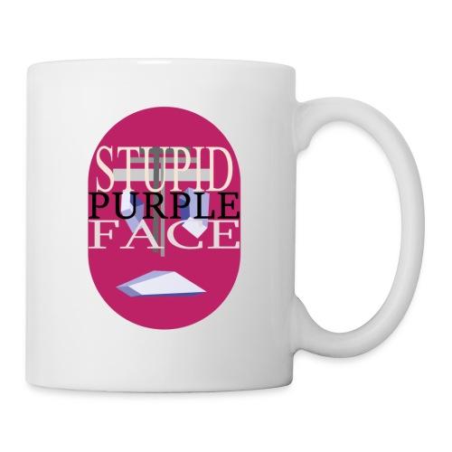 Stupid Purple Face - Coffee/Tea Mug