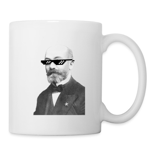 Zamenhof Shades (BW) - Coffee/Tea Mug