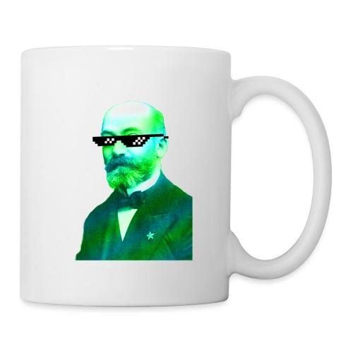 Green and Blue Zamenhof - Coffee/Tea Mug