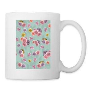 Floral Graphic Pattern1 - Coffee/Tea Mug