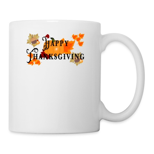 Happy Thanksgiving greeting card - Coffee/Tea Mug