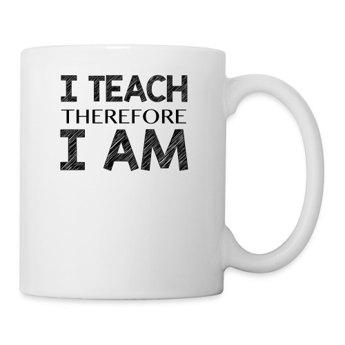 I THINK - THEREFORE - I AM - Coffee/Tea Mug