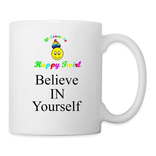 HTS Believe in Yourself Highlighted Logo - Coffee/Tea Mug