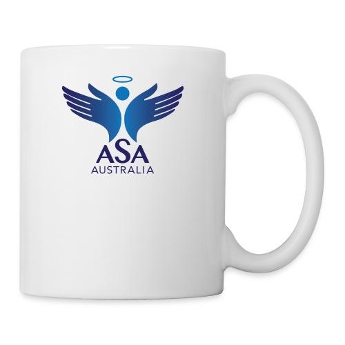 3459 Angelman Logo AUSTRALIA FA CMYK - Coffee/Tea Mug