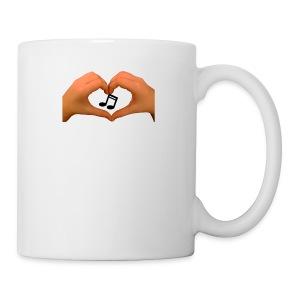 hands of music - Coffee/Tea Mug