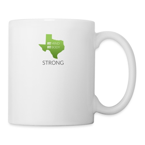 fit mind fit body strong - Coffee/Tea Mug