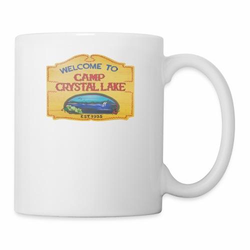 camp crystal lake sign - Coffee/Tea Mug