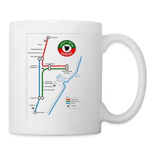 Craft Beer Lines Hobart - Coffee/Tea Mug