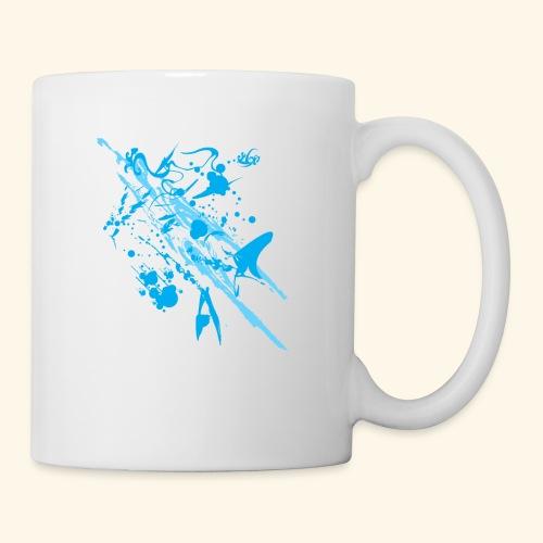 Blue Splash - Coffee/Tea Mug