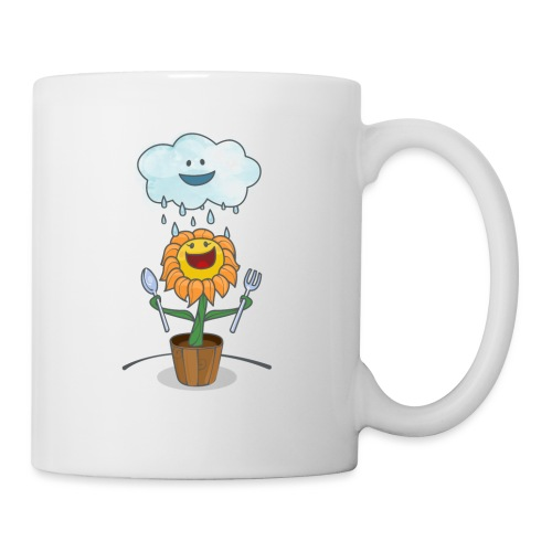 Cloud & Flower - Best friends forever - Coffee/Tea Mug