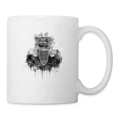 Black Hot Rod Ink Splat - Coffee/Tea Mug