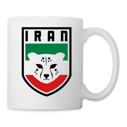Iran Cheetah Badge - Coffee/Tea Mug