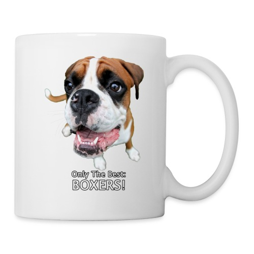 Only the best - boxers - Coffee/Tea Mug