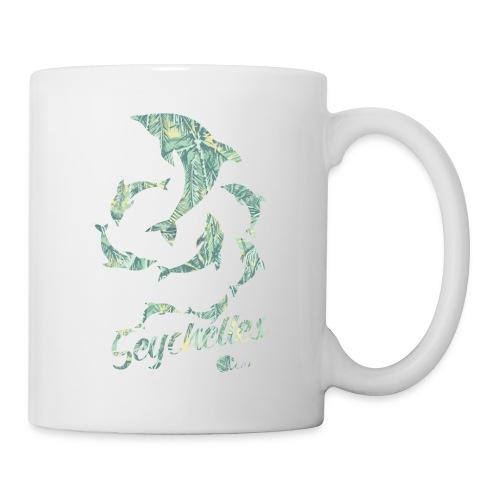 dolphin spiral - Coffee/Tea Mug